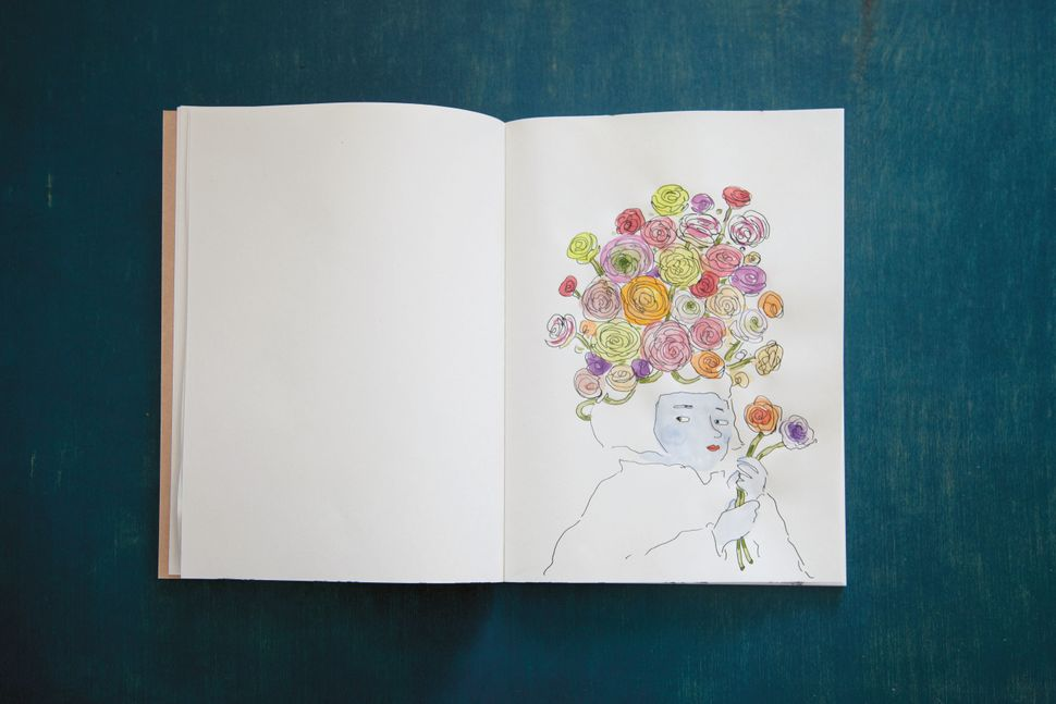 <i>Ladies Drawing Night: Make Art, Get Inspired, Join the Party</i> by Julia Rothman, Leah Goren and Rachael Cole, published