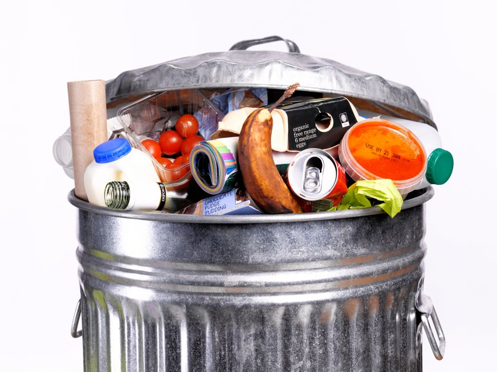 Le Post Recycle Food Trash Waste Icon