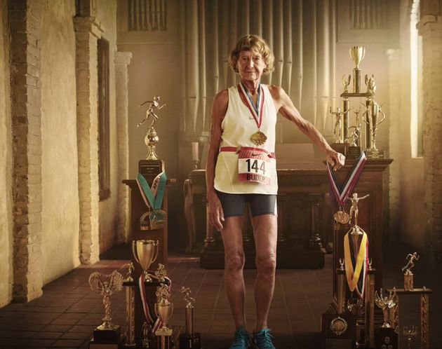 Iron Nun Proves Youth Is Unlimited In Nike Ad Huffpost