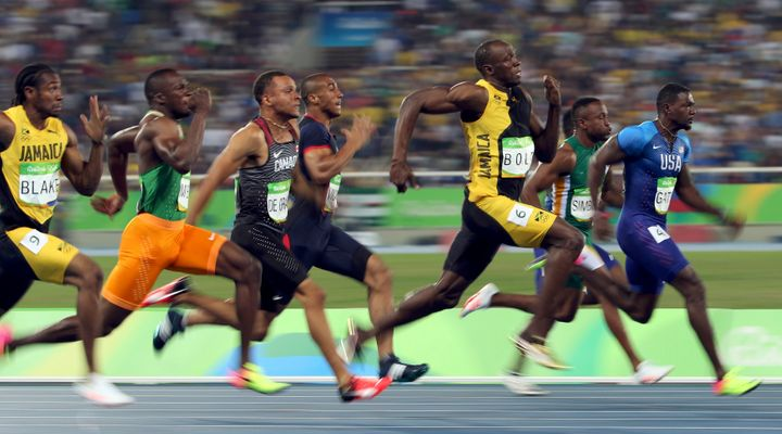 By winning the 100 meters in Rio, Bolt became the first person ever to capture three consecutive gold medals in the prestigio