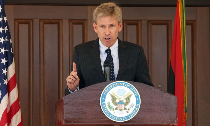 Ambassador Chris Stevens died when militants attacked the U.S. consulate in Benghazi, Libya, in 2012.
