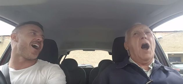 Son Sings Throwback Tunes In Car With Dad Who Has