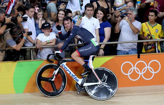 Mark Cavendish Wins Silver Medal In Track Cycling Omnium At Rio