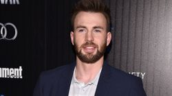 Chris Evans' Adorable Dog Interrupts His 22-Pushup Challenge