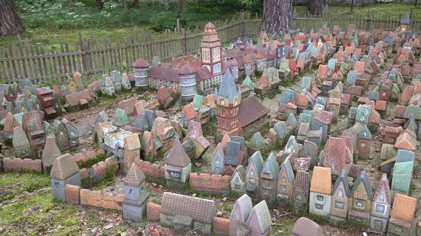 A ceramic village in Svetlogorsk portrays pre-war Konigsberg in miniature