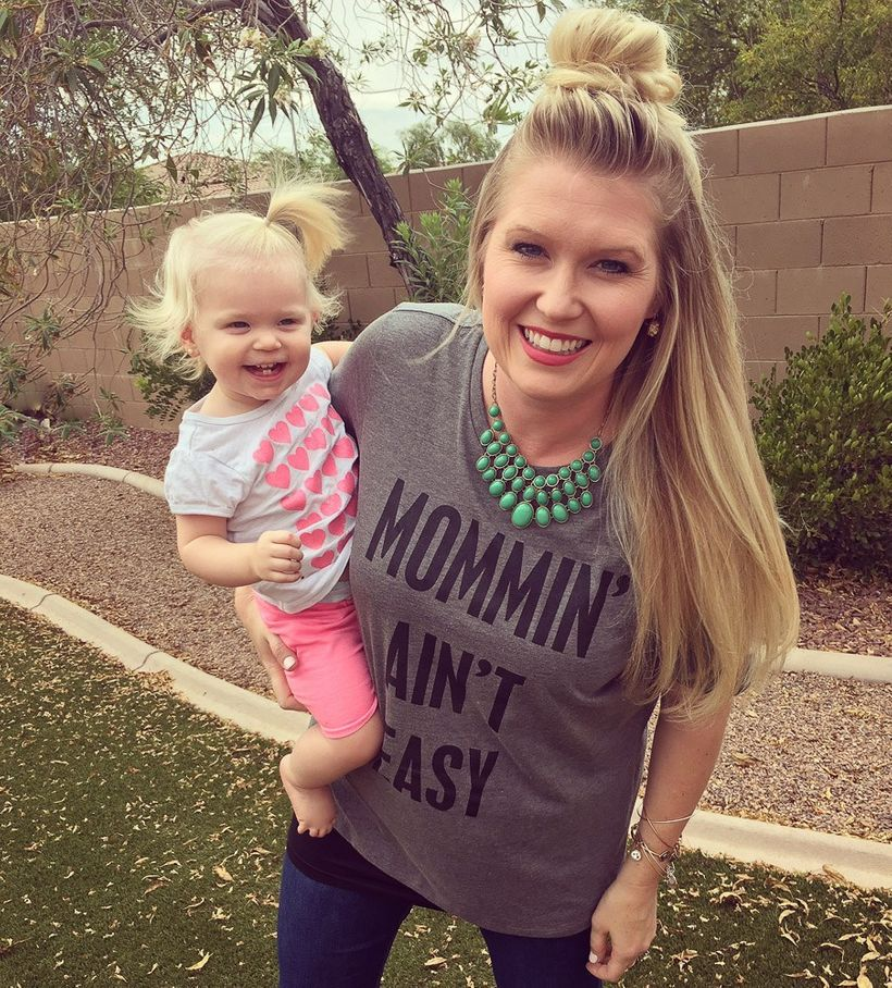 "<a href=""http://espressoeverafter.com/2016/06/24/mommin-aint-easy-motherhood/"" target=""_blank""></a>Mommin' Aint Easy Graphic"