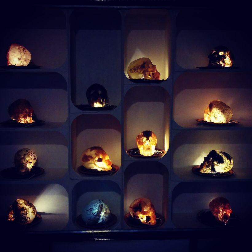 Manish Harijan's ongoing exhibit at Nexus Culture Nepal