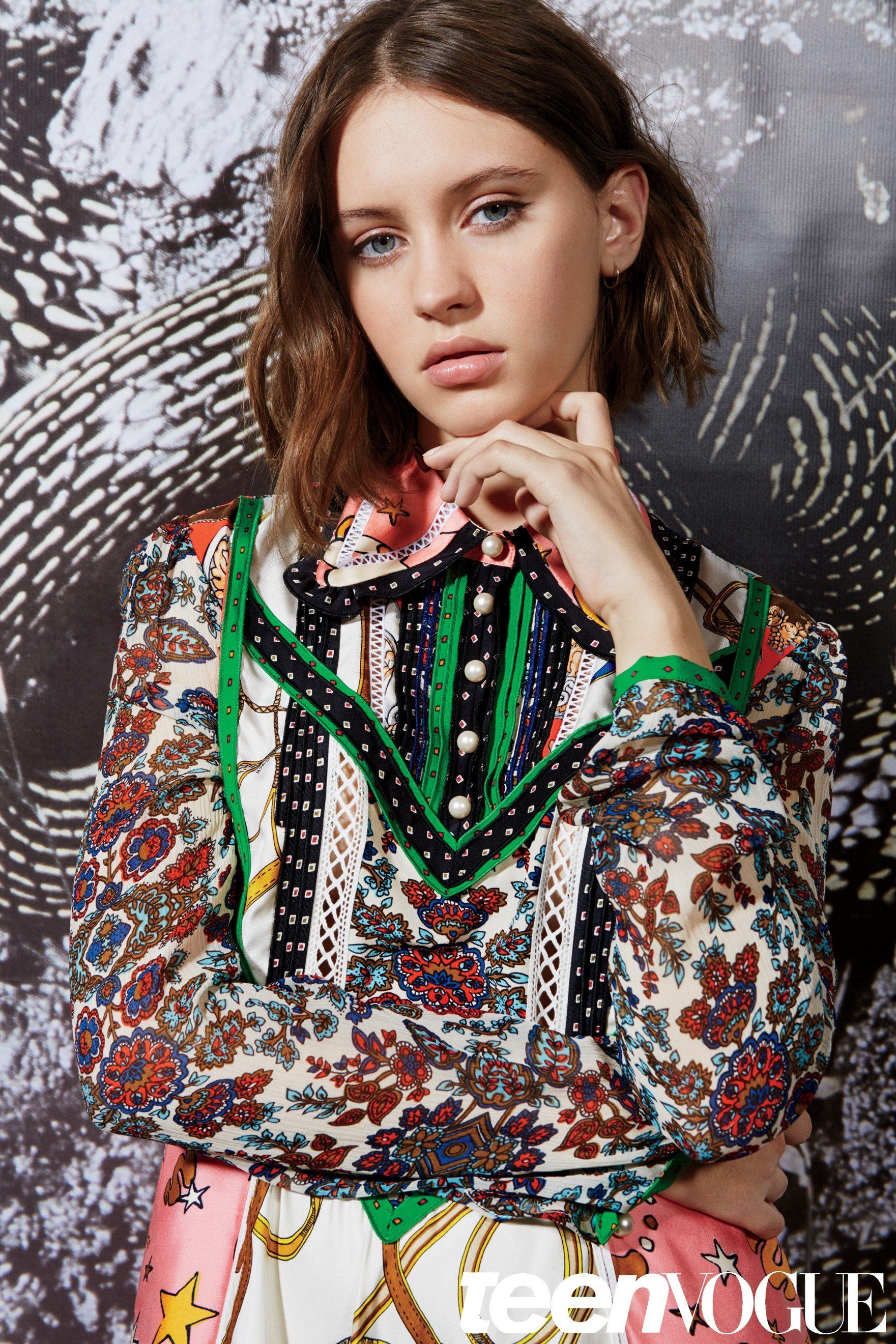 Iris Law Lands Her First Major Magazine Shoot For Teen