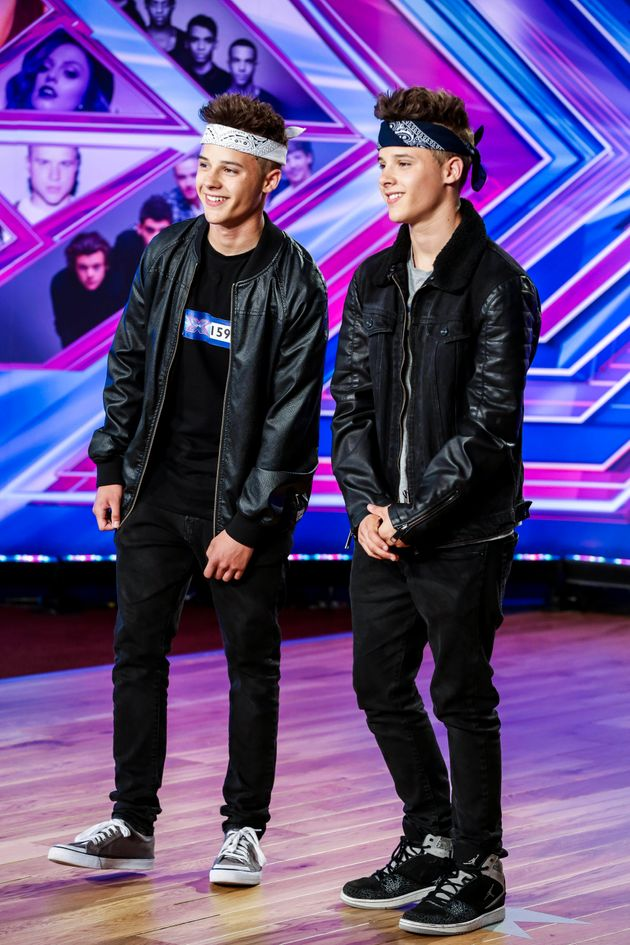 Josh and Kyle auditioned for the show in