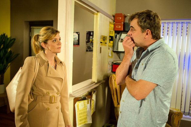 Steve is relieved when Leanne announces her plans to