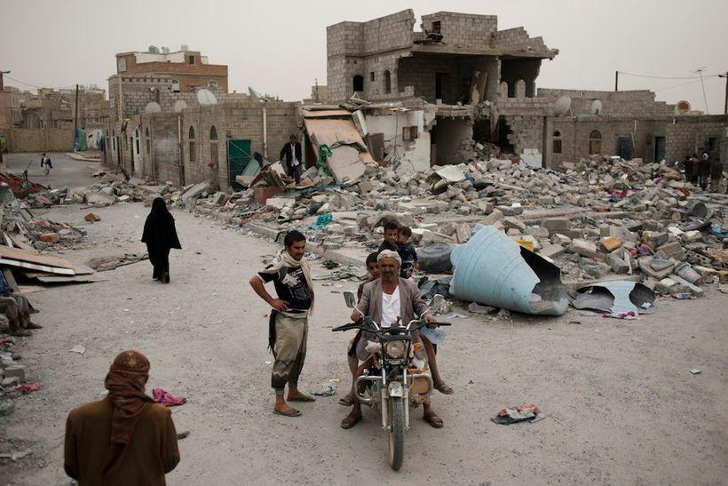 Yemen in rubbles - 2016