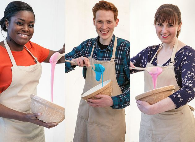 Three of this year's 'Bake Off'