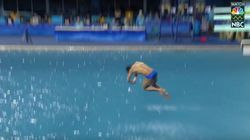 Olympic Diver's Epic Belly Flop Will Leave You