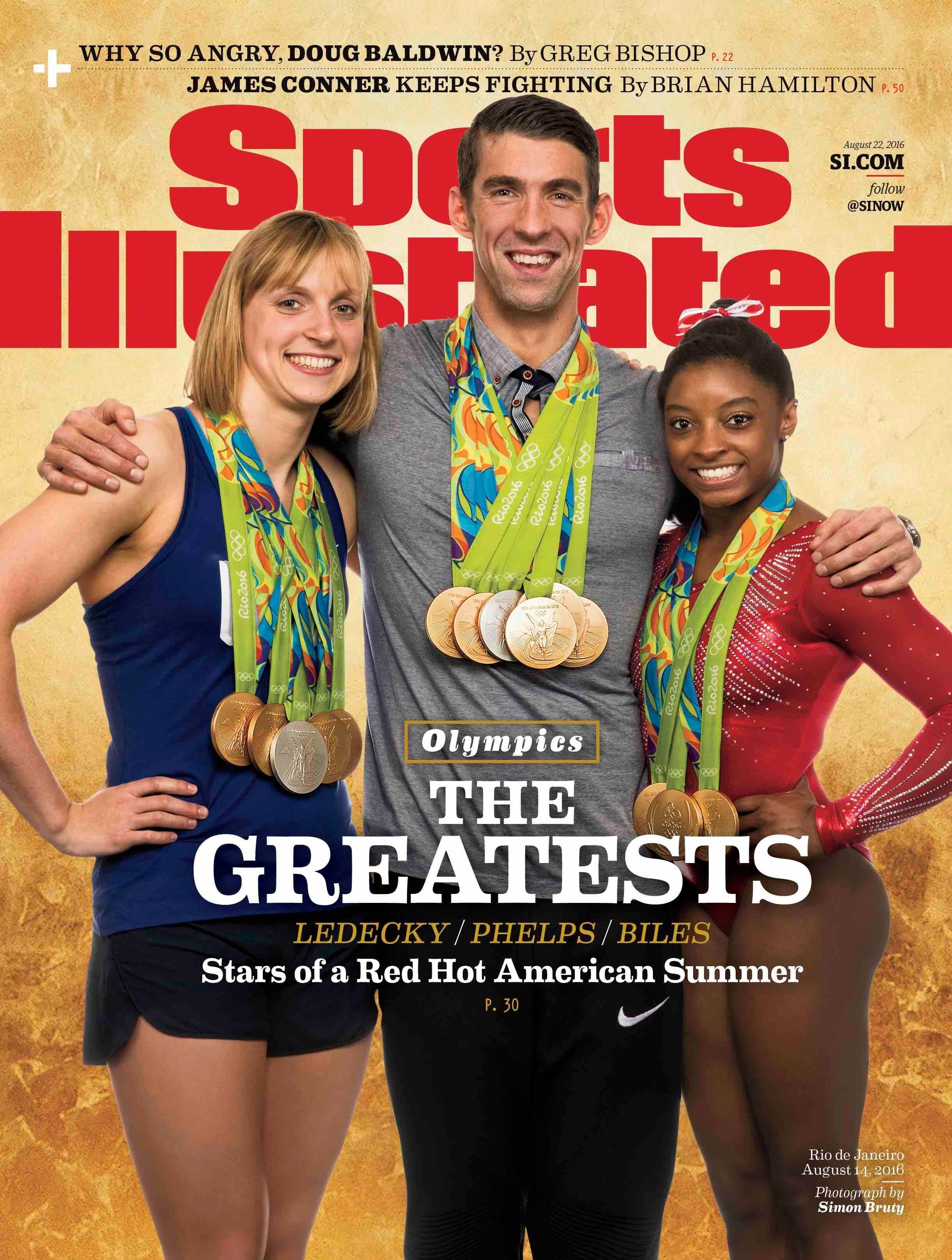 "Sports Illustrated ""The Greatests"" cover"