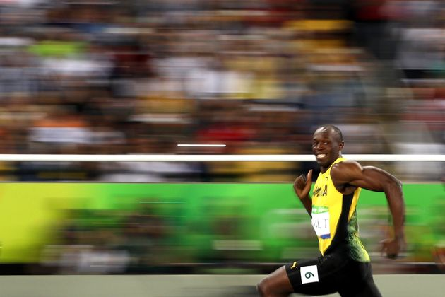 Bolt's elegance as a runner includes his seemingly never-ending
