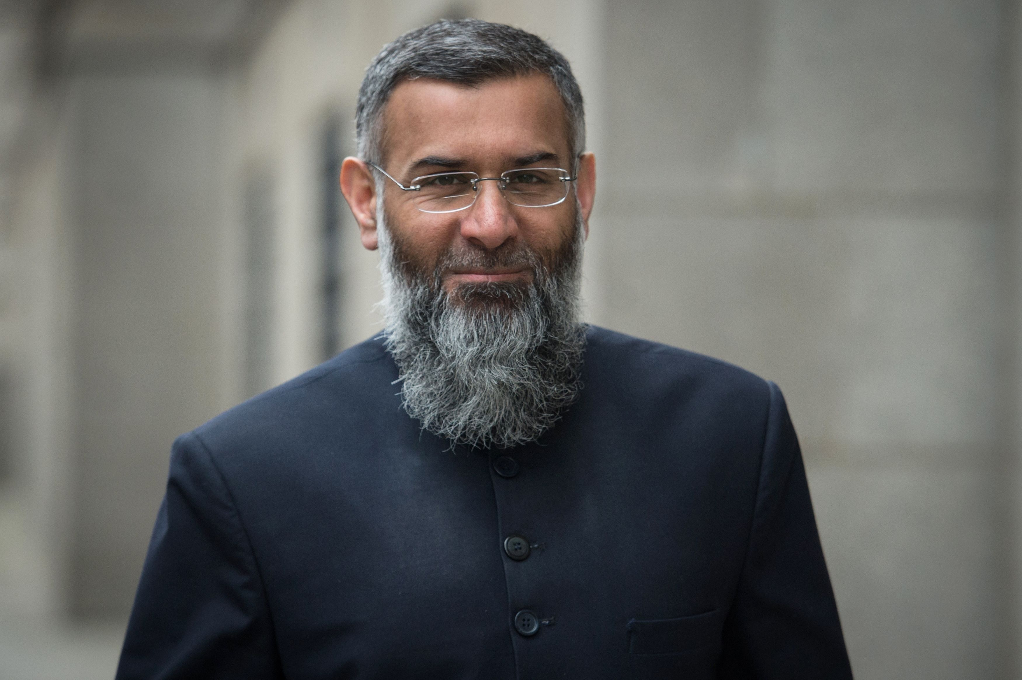 Anjem Choudary outside the Old
