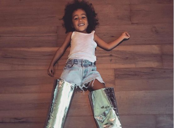 North West Has Started Dressing Up As Kim Kardashian
