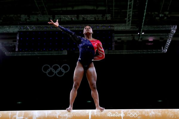 After winning the gold medal in the women's individual all-around on Aug. 11, the 19-year-old gymnast insisted tha