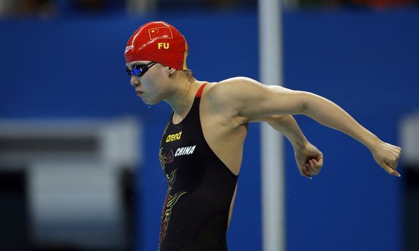 "The 20-year-old Chinese swimmer, who's <a href=""http://www.huffingtonpost.com/entry/fu-yuanhui-olympics_us_57aa0ecae4b0ba7ed2"