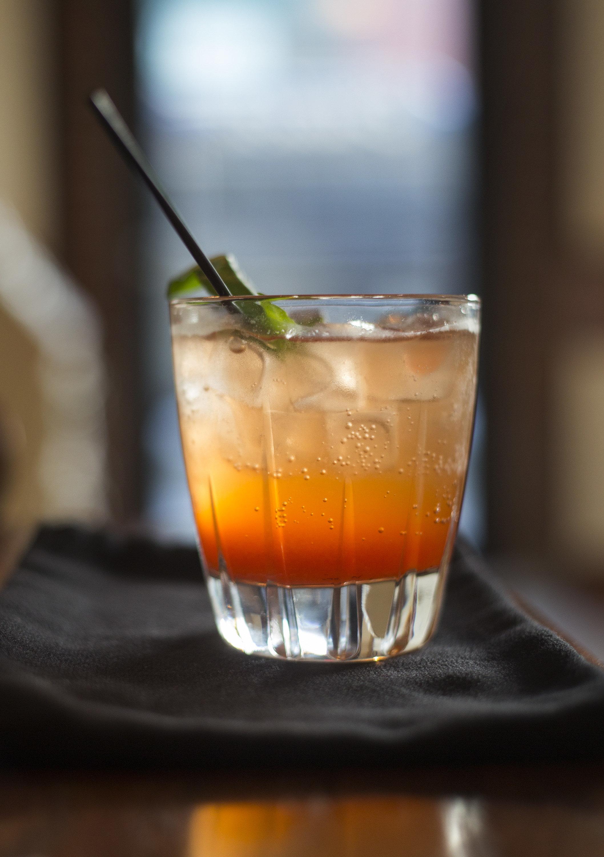 PORTLAND, ME - JUNE 8: Stawberry-basil rum shrub at Abilene restaurant on Wednesday, June 8, 2016. (Photo by Derek Davis/Portland Press Herald via Getty Images)