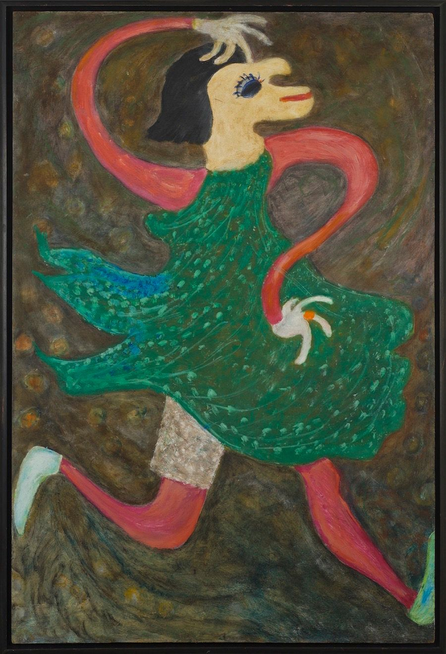 Whimsey, 1984 Oil on board