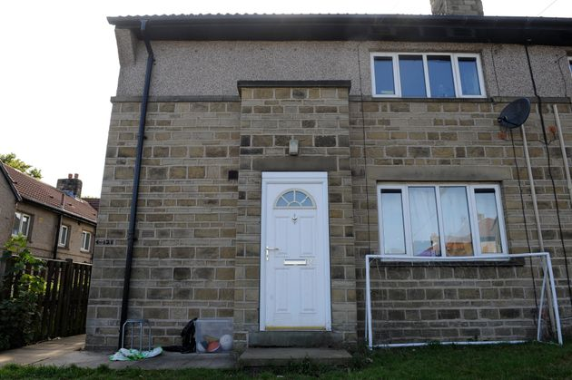 David Ellam's bottom floor flat. The dog that bit him is understood to have belonged to his upstairs