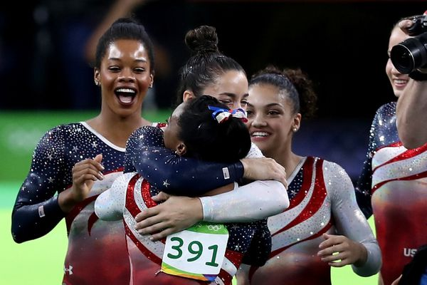 "Forget their <a href=""http://www.nbcolympics.com/news/higher-stronger-fiercer-us-women-win-gymnastics-team-gold-8-points"" tar"