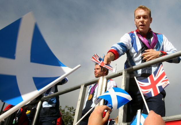 Sir Chris Hoy is one of Scotland's biggest sporting success