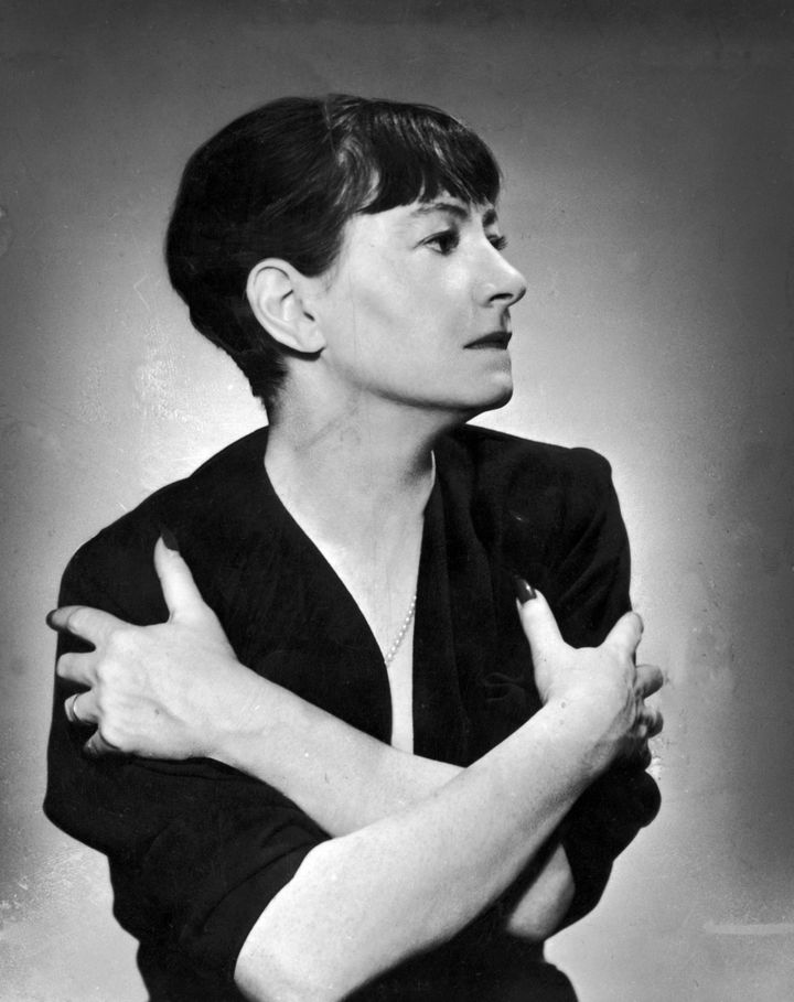 American author Dorothy Parker circa 1935.