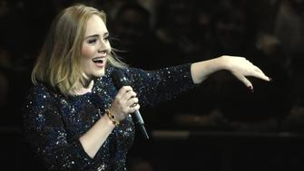 OAKLAND, CA - AUGUST 02:  Adele performs during her 'Adele Live 2016' tour at ORACLE Arena on August 2, 2016 in Oakland, California.  (Photo by Tim Mosenfelder/Getty Images for BT PR)