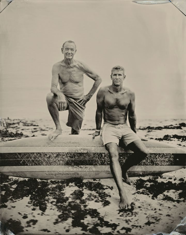 Robert and Wingnut, Montauk, New York
