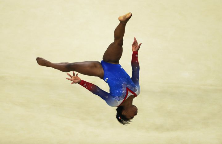 Simone Biles, superstar.