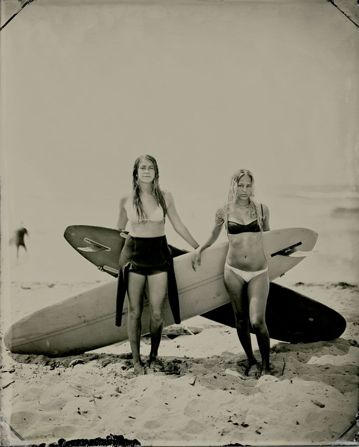 Nica and Lily, Montauk, New York &nbsp;&nbsp; <br>