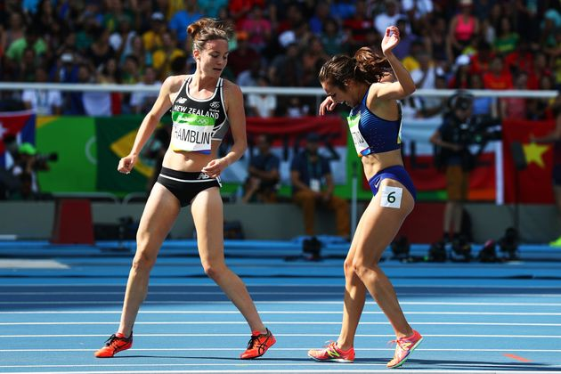 Two Olympic Runners Crashing, Then Urging Each Other To Finish, Sums Up The Olympic