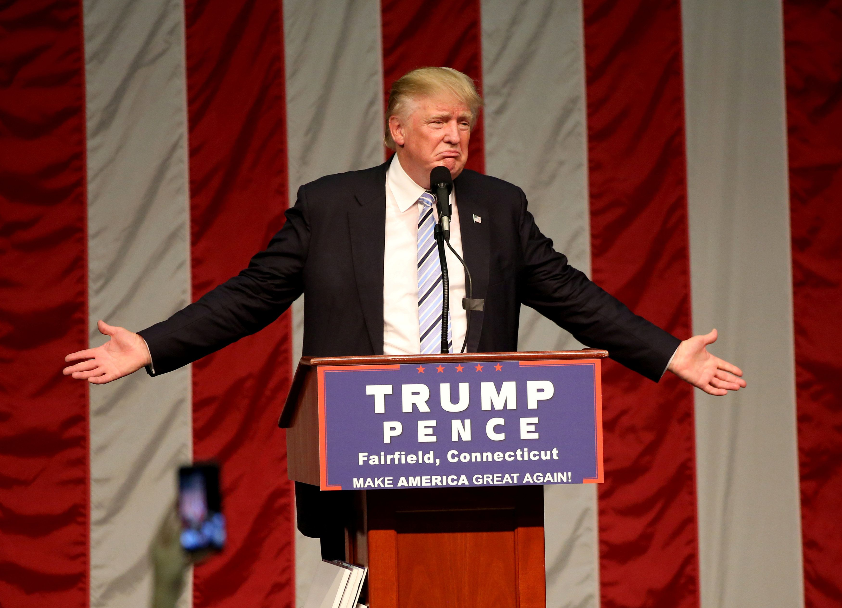 Donald Trumpis just being honest with America abouthis