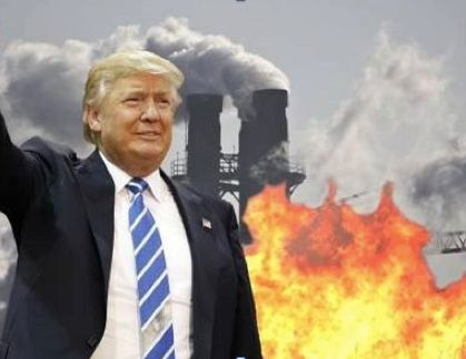 Image result for Trump & environment