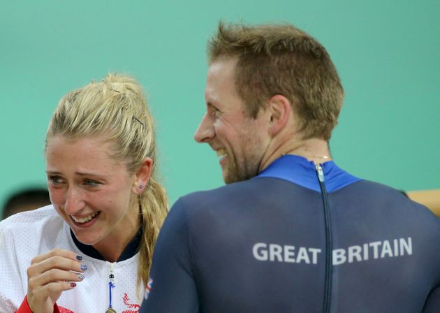 'What's for tea?': Couple Laura Trott and Jason Kenny celebrate in