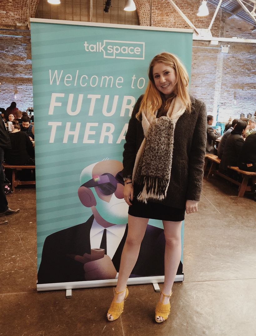 Alexa Curtis at Talkspace Clinical Conference