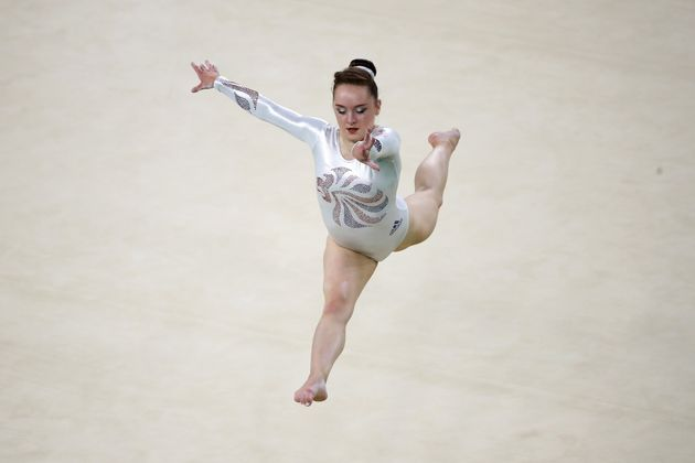 Amy Tinkler won bronze for