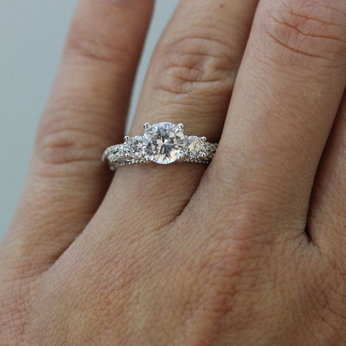 This Is The Most Popular Engagement Ring Style Of 2016 According