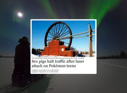 This Is The Most Bizarre Headline Ever To Come Out Of A Tiny Swedish Town