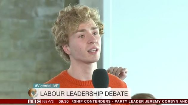 Audience member challenges Jeremy