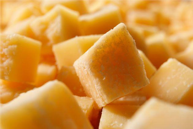 Close up of Parmesan