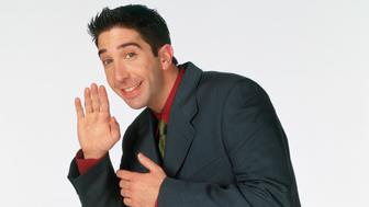 FRIENDS -- Pictured: David Schwimmer as Ross Geller  (Photo by NBC/NBCU Photo Bank via Getty Images)