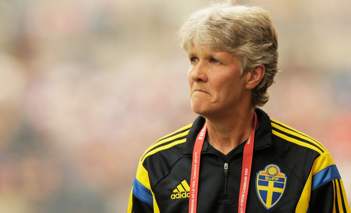 Swedish women's soccer coach Pia Sundhagedoesn't tolerate dumb questions.