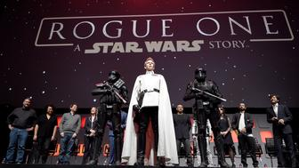 LONDON, ENGLAND - JULY 15:  Ben Mendelsohn during the Rogue One Panel at the Star Wars Celebration 2016 at ExCel on July 15, 2016 in London, England.  (Photo by Ben A. Pruchnie/Getty Images for Walt Disney Studios)