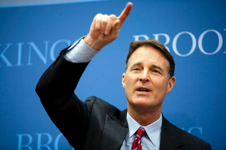 Former Sen. Evan Bayh (D-Ind.) entered the Senate race hoping to turn Indiana blue after Democratic nominee Baron Hill droppe