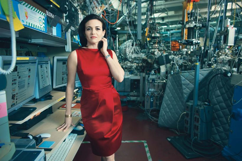 """Sandberg photographed for Vogue in early 2010. Read&nbsp;the full story <a href=""""http://www.vogue.com/865486/sheryl-sandberg-"""