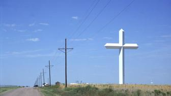 Tallest cross in the Western hemisphere,Hartley,TX