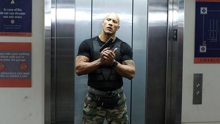 """Dwayne Johnson — the artist formerly known as """"The Rock"""" — in 'Central Intelligence.'"""